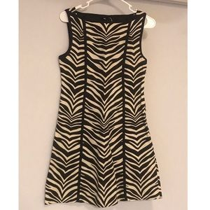 J. Crew zebra shift dress size 0